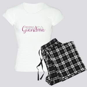 Promoted to Grandma Pajamas