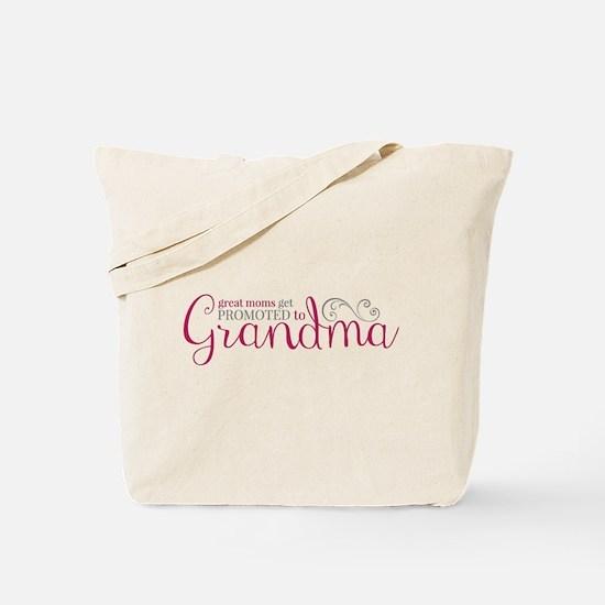 Promoted to Grandma Tote Bag
