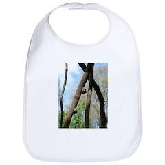 Snails on Tree Bib