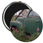 Farm Truck with Flowers Magnets
