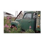 Farm Truck with Flowers Decal Wall Sticker