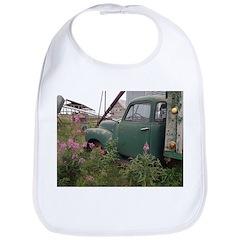 Farm Truck with Flowers Bib