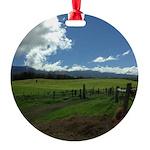 Maui Meadows Round Ornament