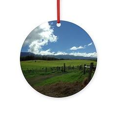Maui Meadows Ornament (Round)