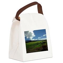 Maui Meadows Canvas Lunch Bag