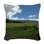 Maui Meadows Woven Throw Pillow