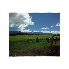 Maui Meadows Throw Blanket