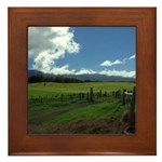 Maui Meadows Framed Tile