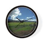 Maui Meadows Wall Clock