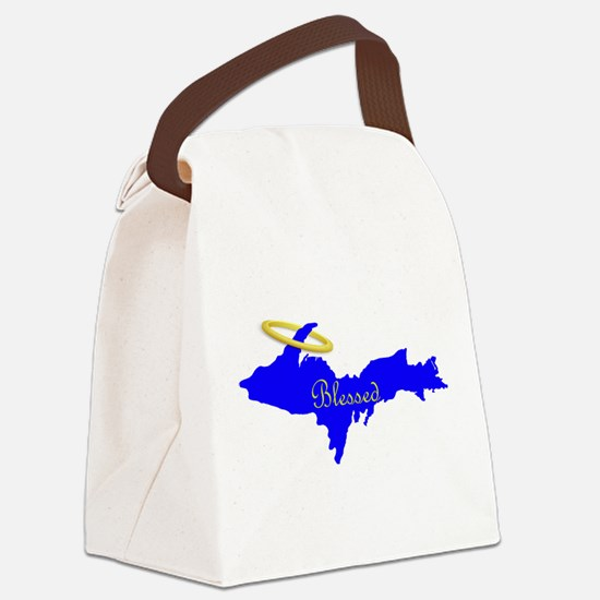 Blessed U.P. Halo Canvas Lunch Bag