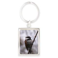 Chickadee Winter Keychains