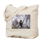 Chickadee Winter Tote Bag
