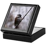 Chickadee Winter Keepsake Box