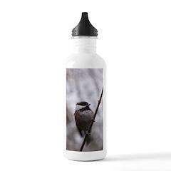 Chickadee Winter Water Bottle