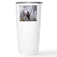Chickadee Winter Travel Mug