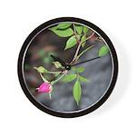 Perfect Pink Bud Wall Clock