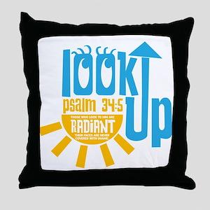 Look Up Throw Pillow