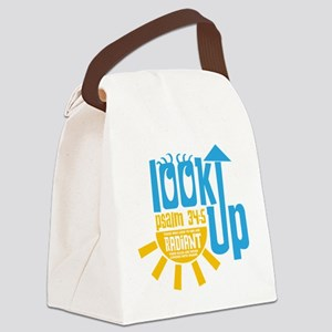 Look Up Canvas Lunch Bag