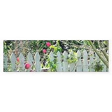 Cheerful Garden Bumper Sticker
