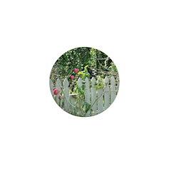 Cheerful Garden Mini Button