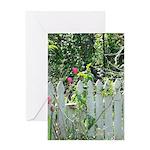 Cheerful Garden Greeting Cards