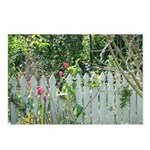 Cheerful Garden Postcards (Package of 8)