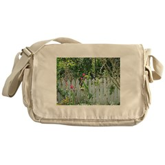 Cheerful Garden Messenger Bag