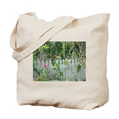 Cheerful Garden Tote Bag