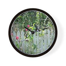Cheerful Garden Wall Clock