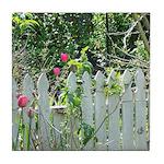 Cheerful Garden Tile Coaster