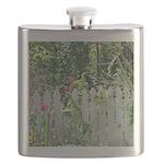 Cheerful Garden Flask