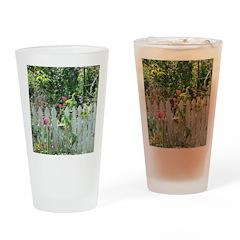 Cheerful Garden Drinking Glass