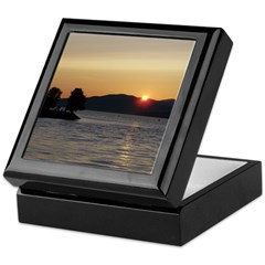 Vancouver Sunset Keepsake Box