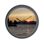 Vancouver Sunset Wall Clock