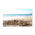Bright at the Beach Rectangle Car Magnet
