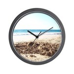 Bright at the Beach Wall Clock