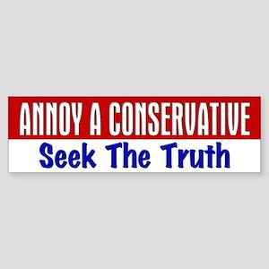 AAC Seek The Truth Bumper Sticker