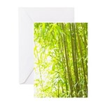 Bamboo Forest Greeting Cards