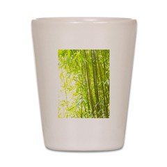 Bamboo Forest Shot Glass