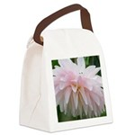 Pretty Pink Canvas Lunch Bag