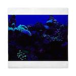 Dark Coral Queen Duvet