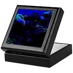 Dark Coral Keepsake Box