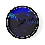 Dark Coral Wall Clock