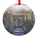 Fairytale Garden Round Ornament