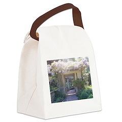 Fairytale Garden Canvas Lunch Bag