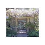 Fairytale Garden Throw Blanket