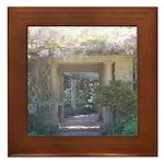 Fairytale Garden Framed Tile