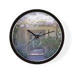 Fairytale Garden Wall Clock