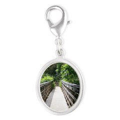 Bridge in the Bamboo Forest Charms