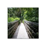 Bridge in the Bamboo Forest Sticker